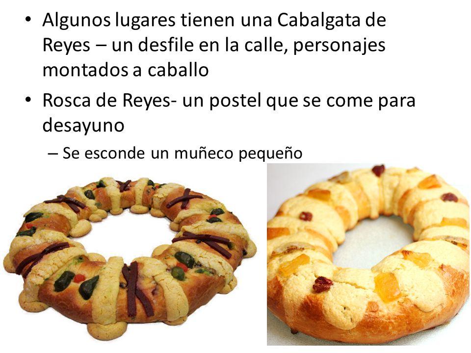 Rosca de Reyes- un postel que se come para desayuno