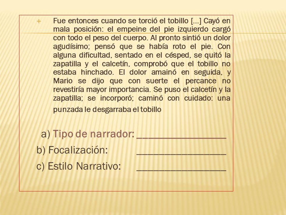 LOS TIPOS DE NARRADOR ¿quién es...? - ppt descargar
