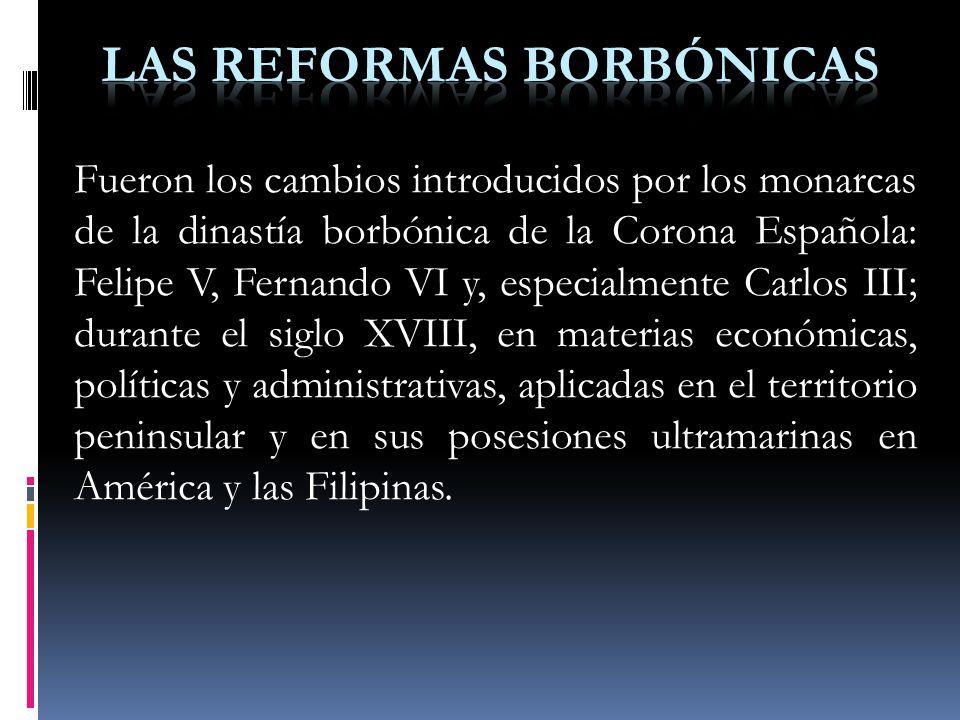 Las reformas borb nicas ppt descargar - Reformas economicas en madrid ...
