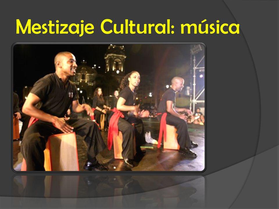 Mestizaje Cultural: música