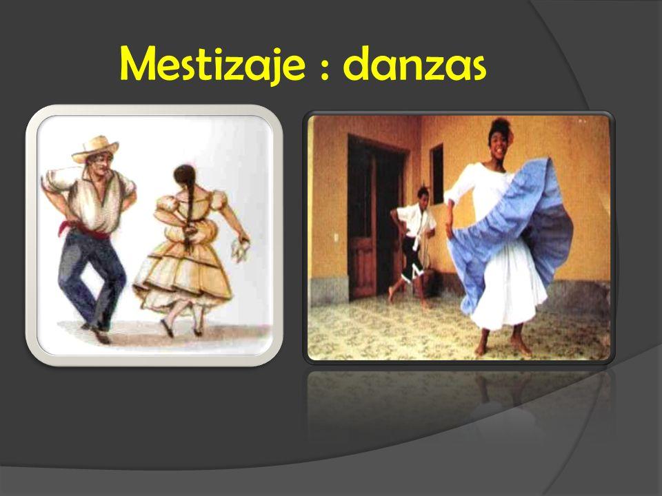 Mestizaje : danzas