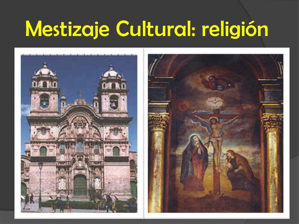 Mestizaje Cultural: religión