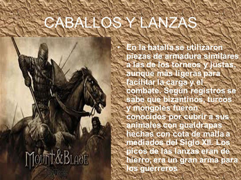 CABALLOS Y LANZAS