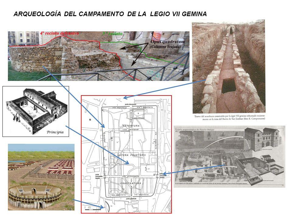 ARQUEOLOGÍA DEL CAMPAMENTO DE LA LEGIO VII GEMINA