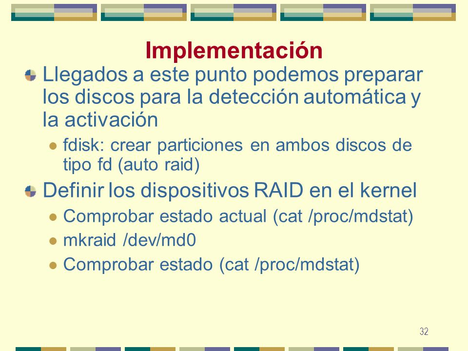 Raid arreglo redundante de disco independiente ppt descargar for Los puntos discografia