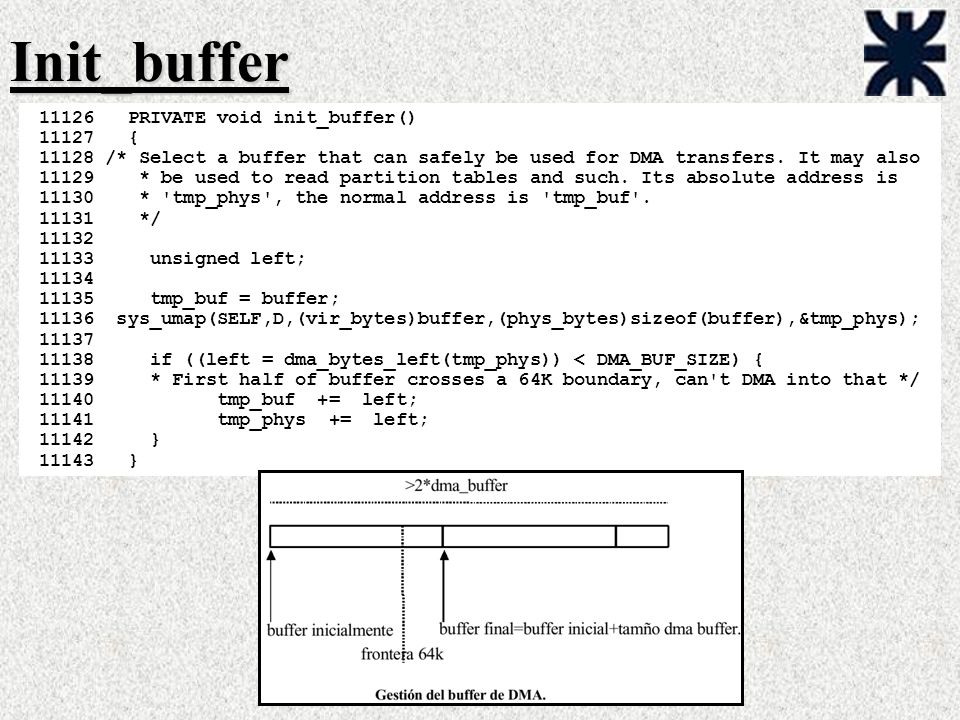 Init_buffer PRIVATE void init_buffer() {