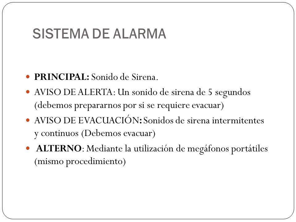 Protocolo general de evacuacion ppt video online descargar for Sonido de alarma