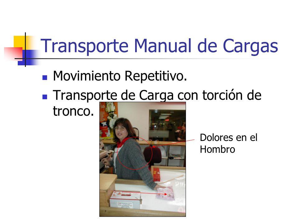 Transporte Manual de Cargas
