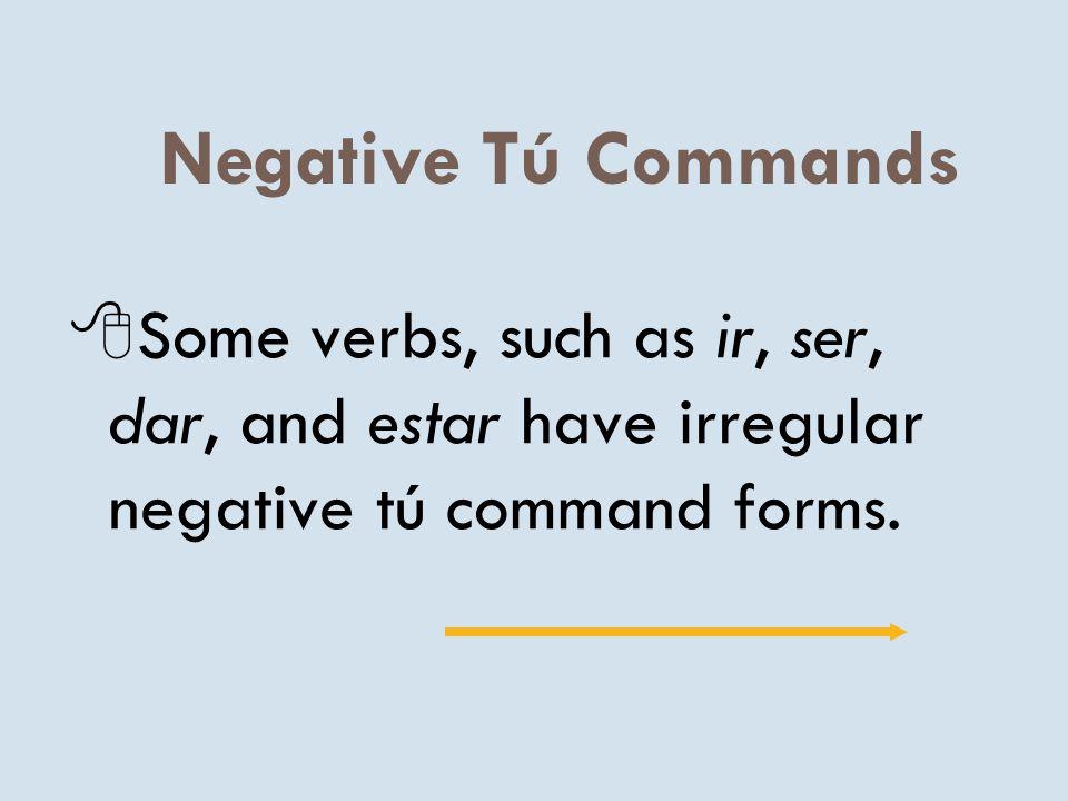Negative Tú Commands P. 356 Realidades ppt descargar