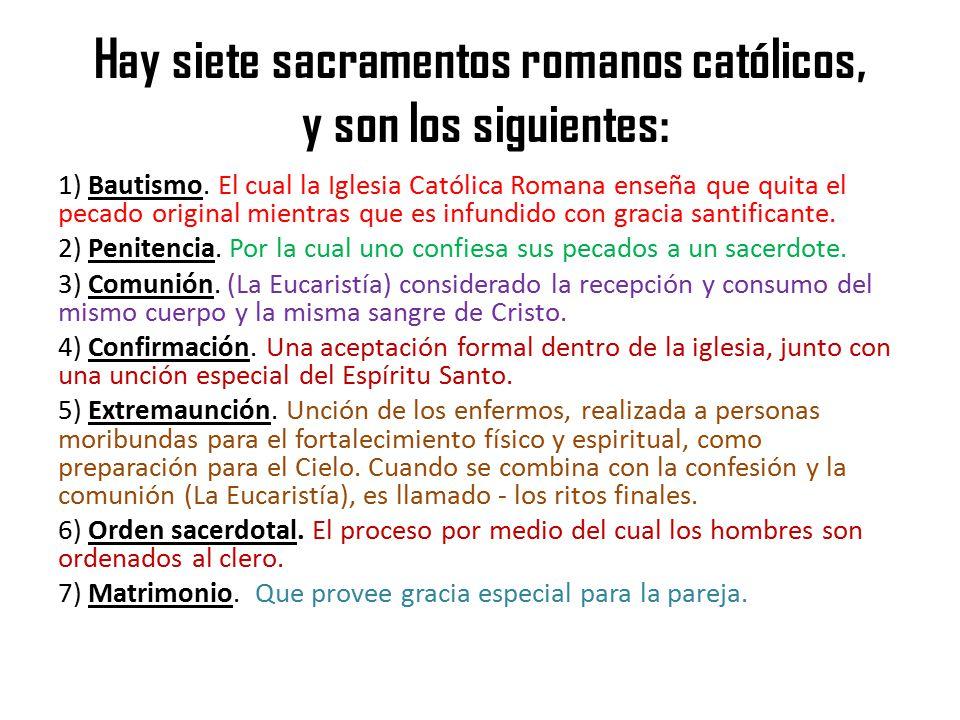Matrimonio Catolico Definicion : Son bíblicos los siete sacramentos católicos ppt video