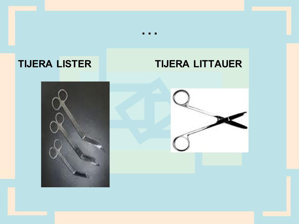 … TIJERA LISTER TIJERA LITTAUER