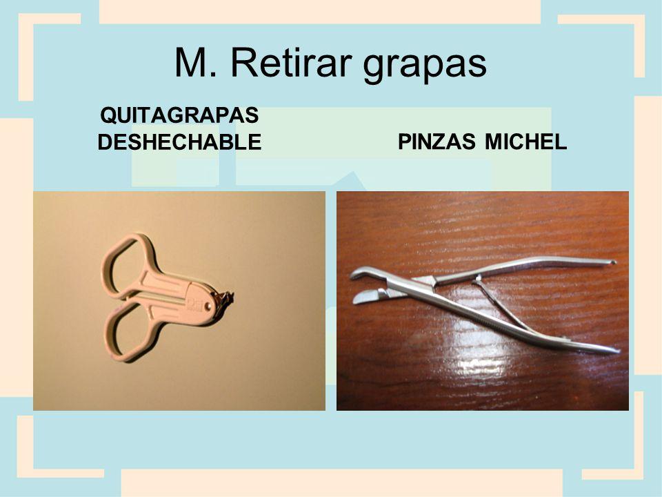 QUITAGRAPAS DESHECHABLE