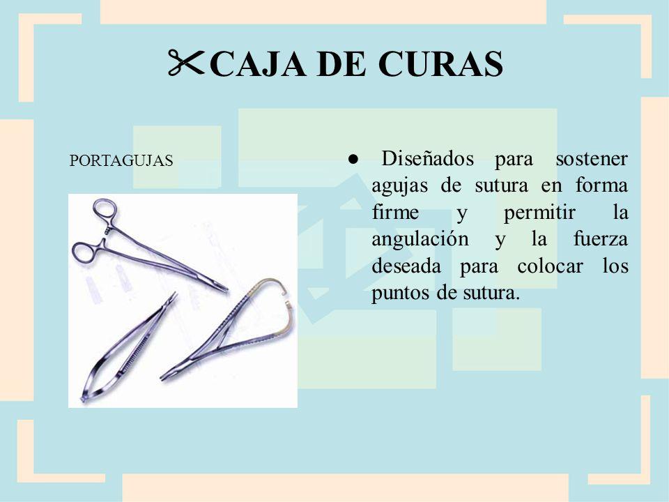 CAJA DE CURAS