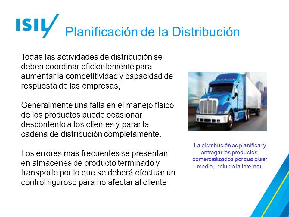 Planificación de la Distribución
