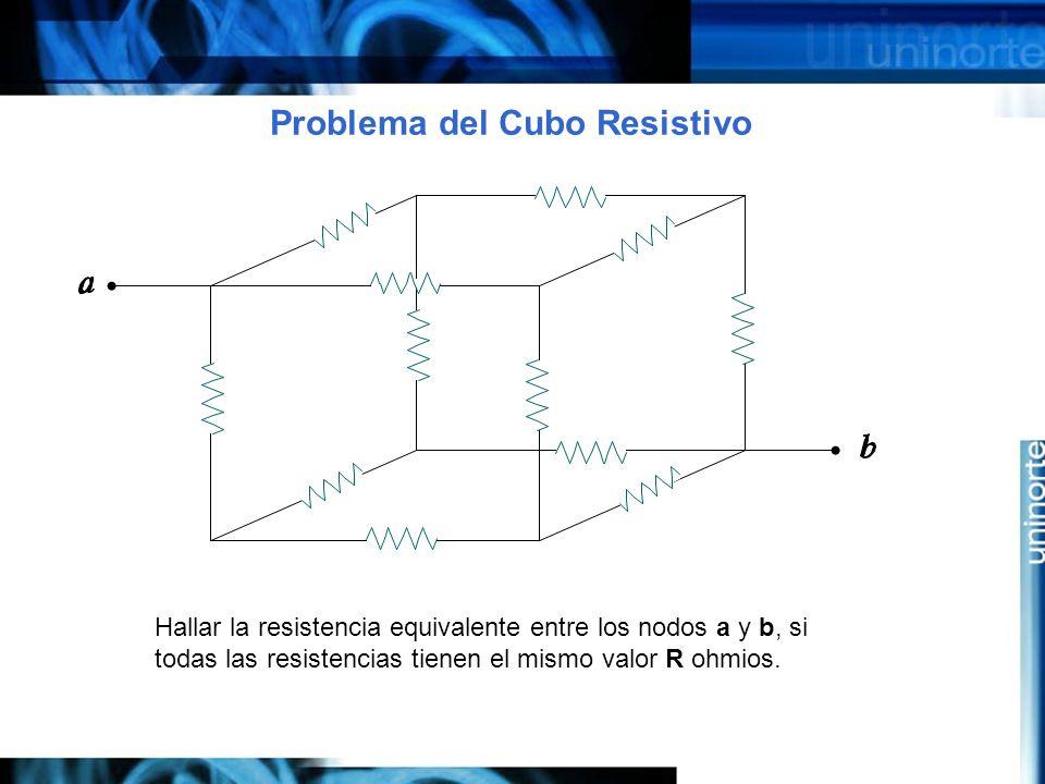 Problema del Cubo Resistivo
