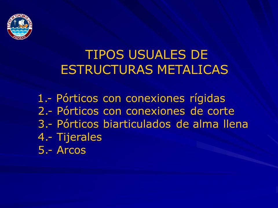 Estructuras metalicas y de madera ppt video online descargar - Tipos de estructura metalica ...