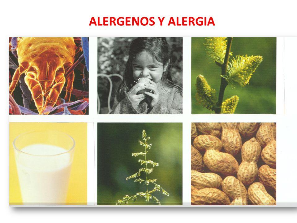 ALERGENOS Y ALERGIA
