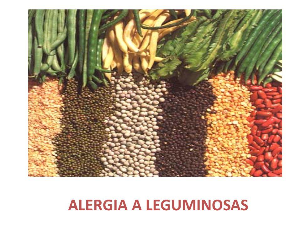 ALERGIA A LEGUMINOSAS