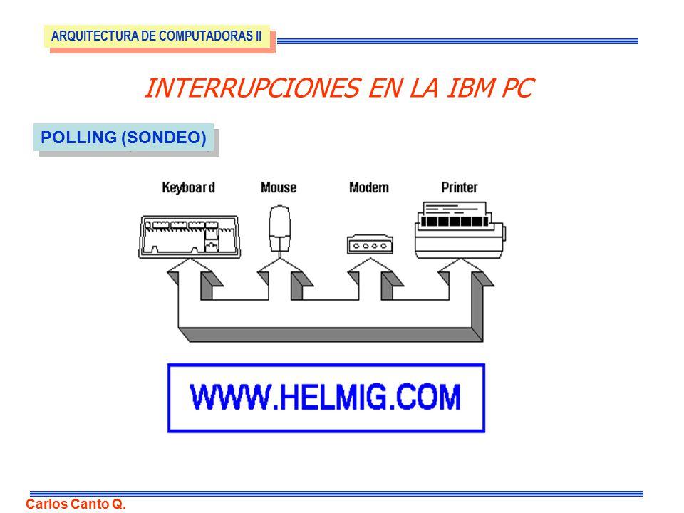Interrupciones En La Ibm Pc Ppt Descargar