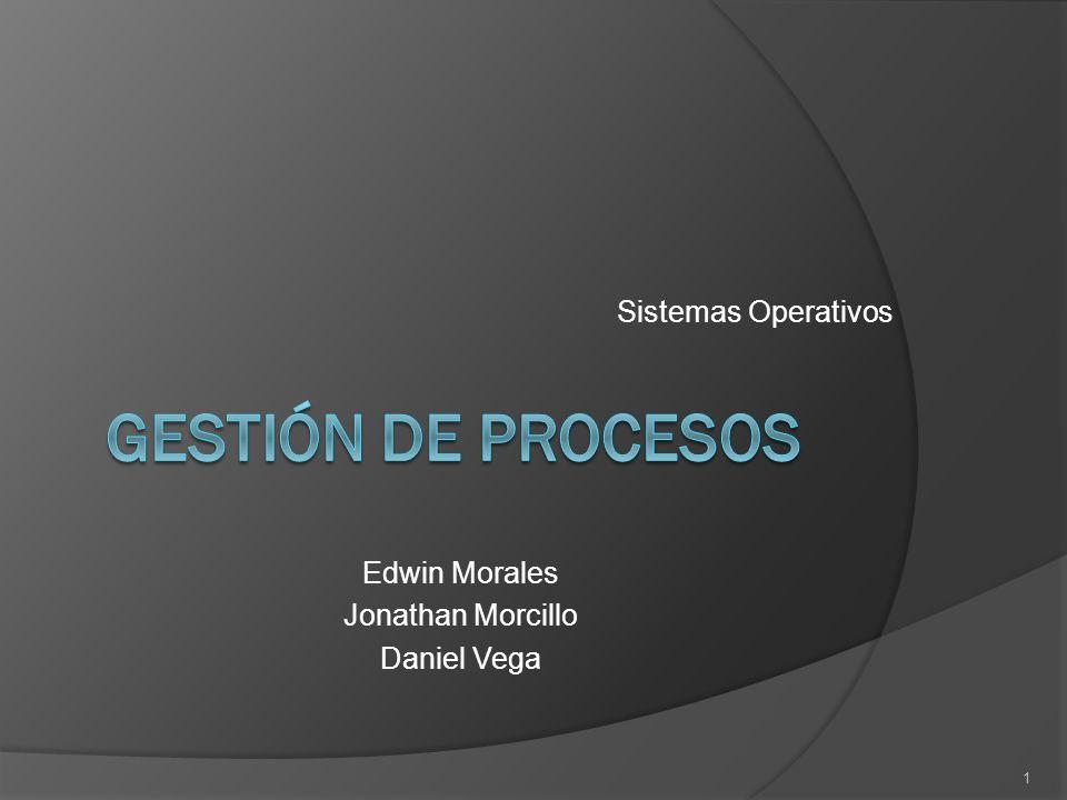Gestión de procesos Sistemas Operativos Edwin Morales - ppt descargar