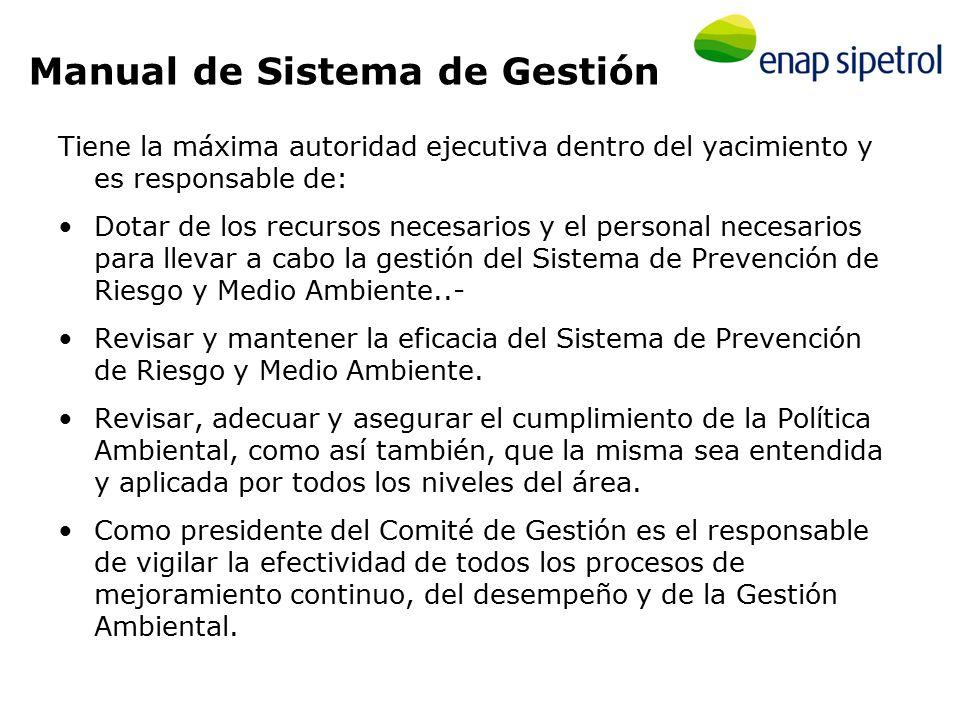 Manual de Sistema de Gestión