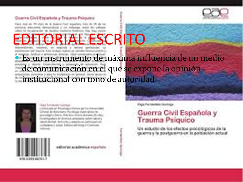 EDITORIAL ESCRITO