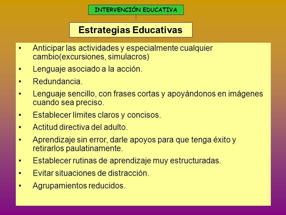 El autismo intervenci n educativa ante estos alumnos for La accion educativa en el exterior