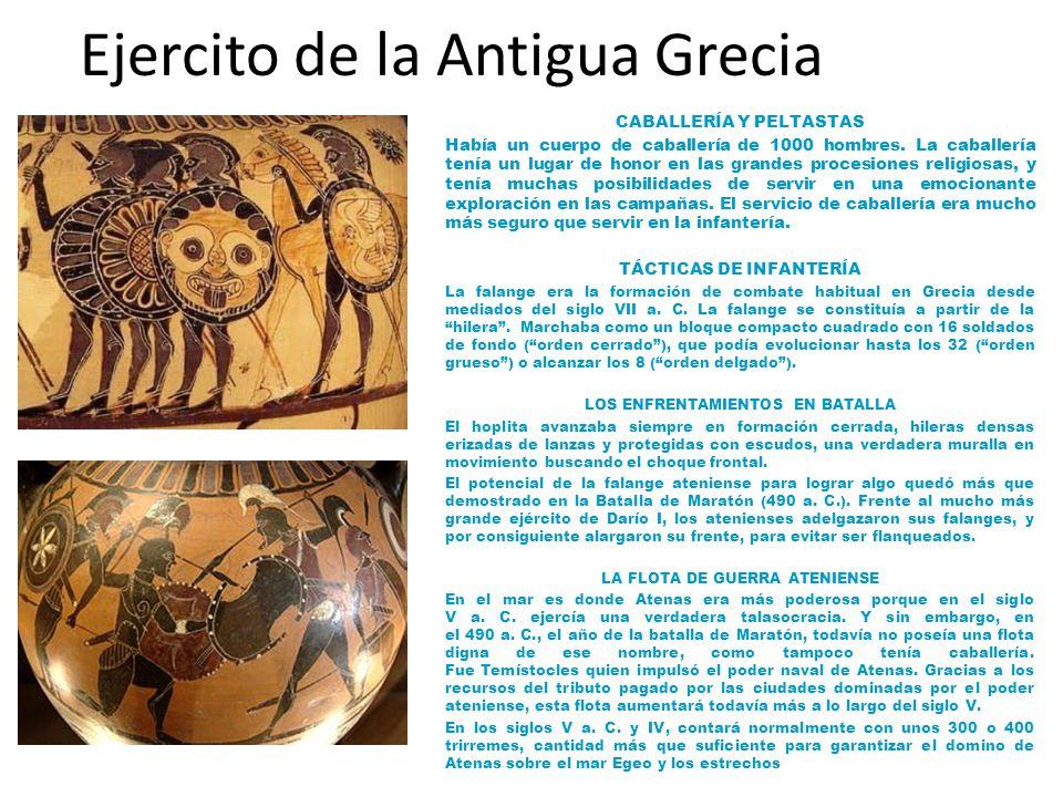 Ejercito de la Antigua Grecia