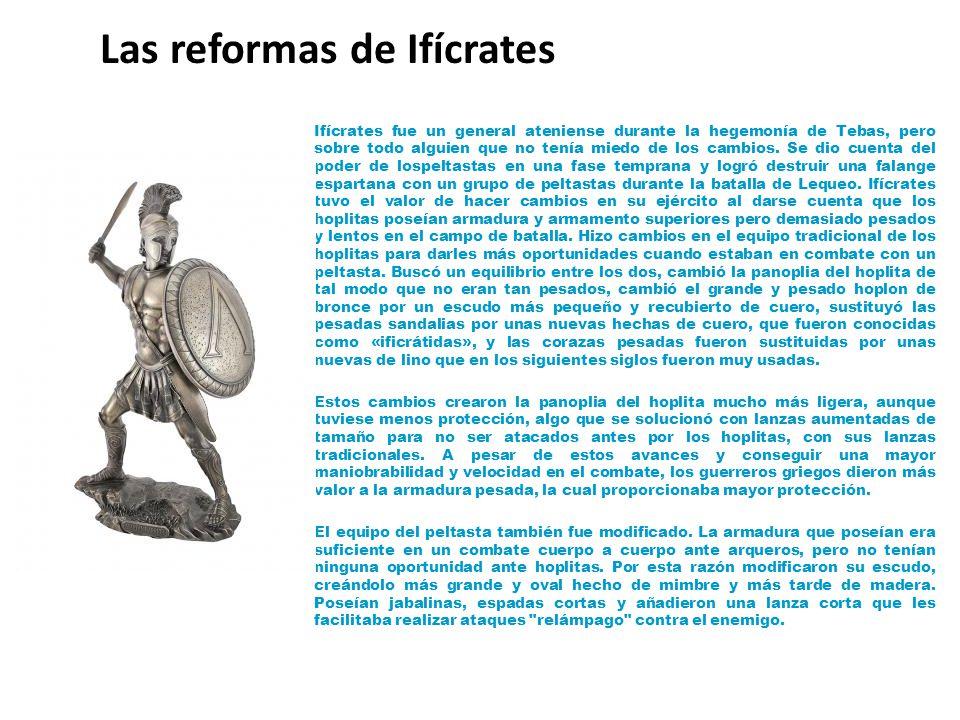 Las reformas de Ifícrates