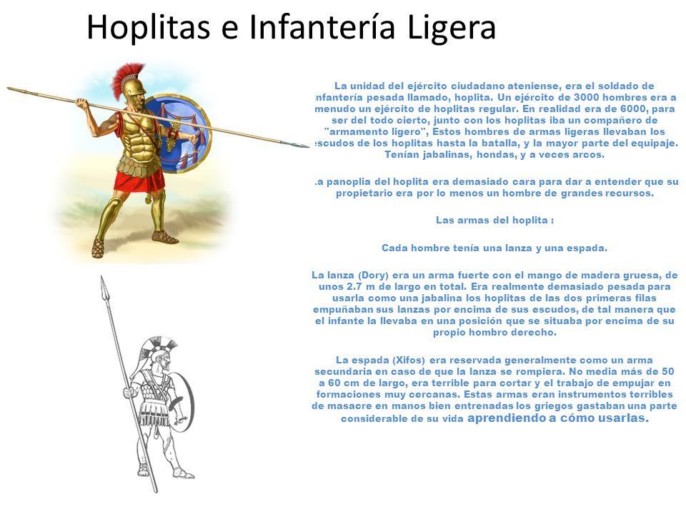 Hoplitas e Infantería Ligera