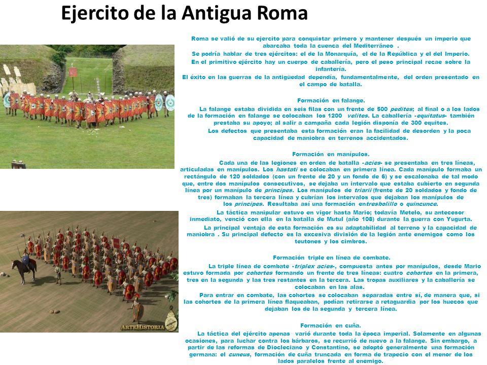 Ejercito de la Antigua Roma