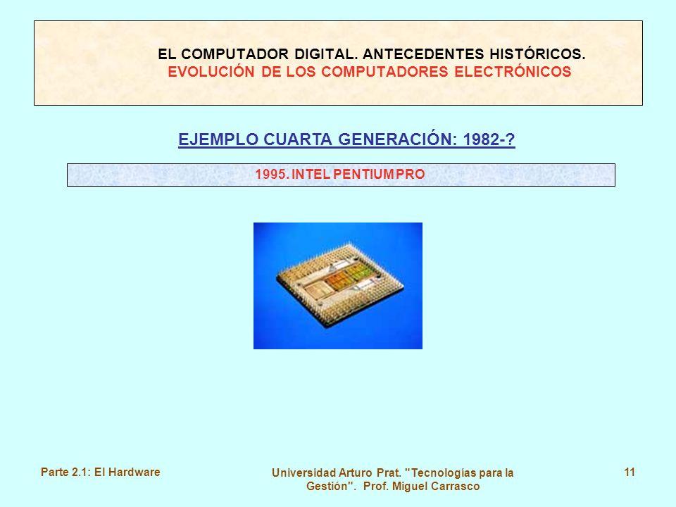 EJEMPLO CUARTA GENERACIÓN: 1982-