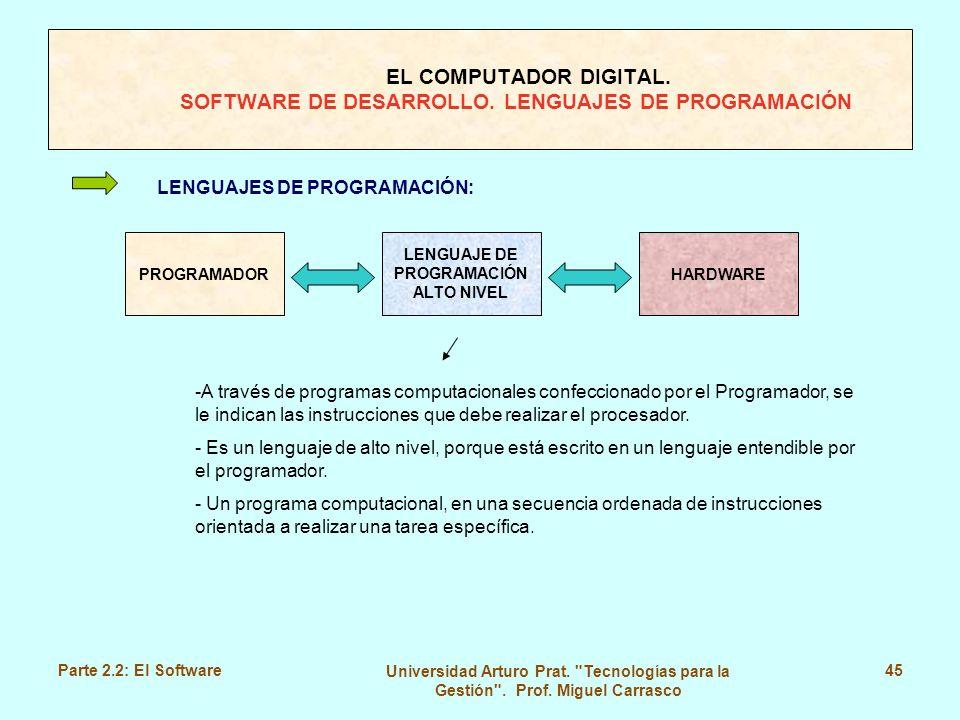 LENGUAJE DE PROGRAMACIÓN ALTO NIVEL