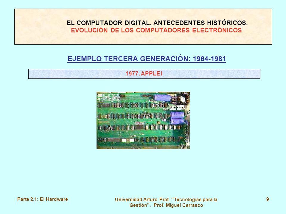 EJEMPLO TERCERA GENERACIÓN: 1964-1981
