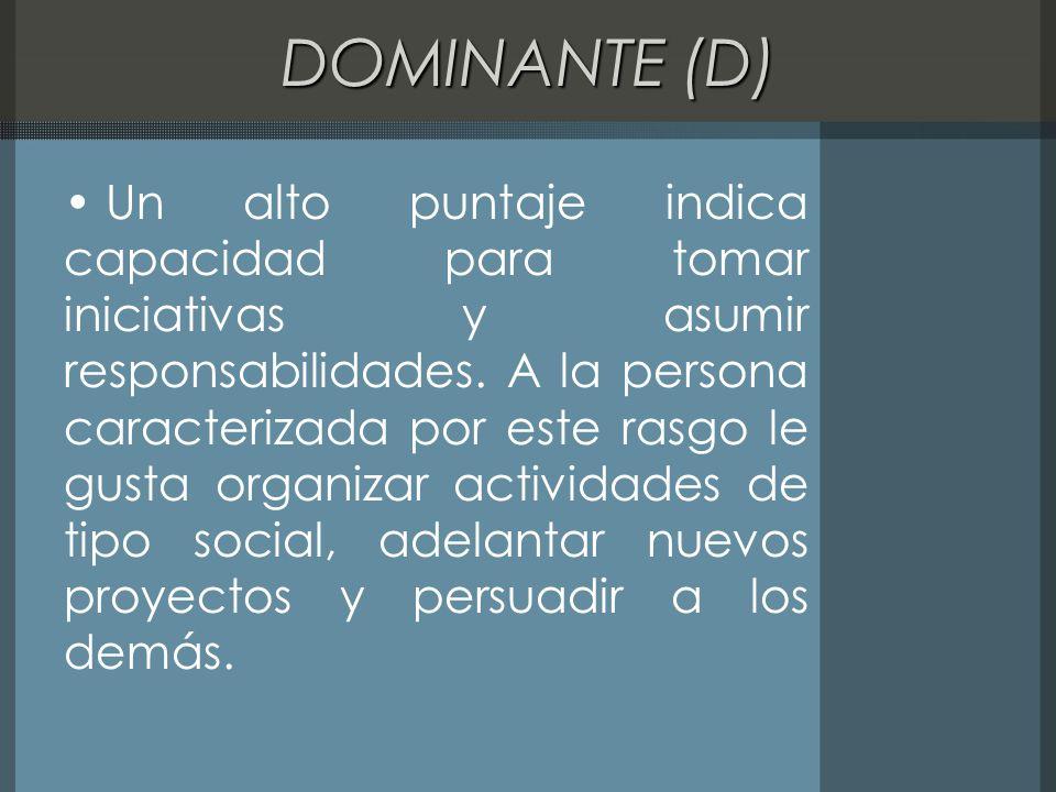 DOMINANTE (D)