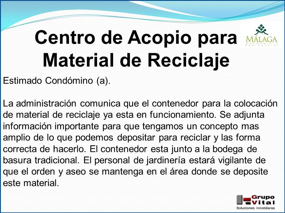 Centro de acopio para material de reciclaje ppt video for Informacion sobre el suelo