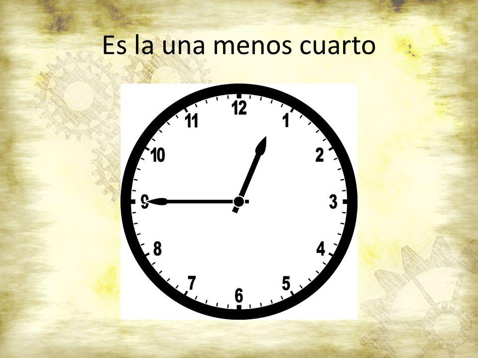 el reloj sr claybaugh ppt descargar