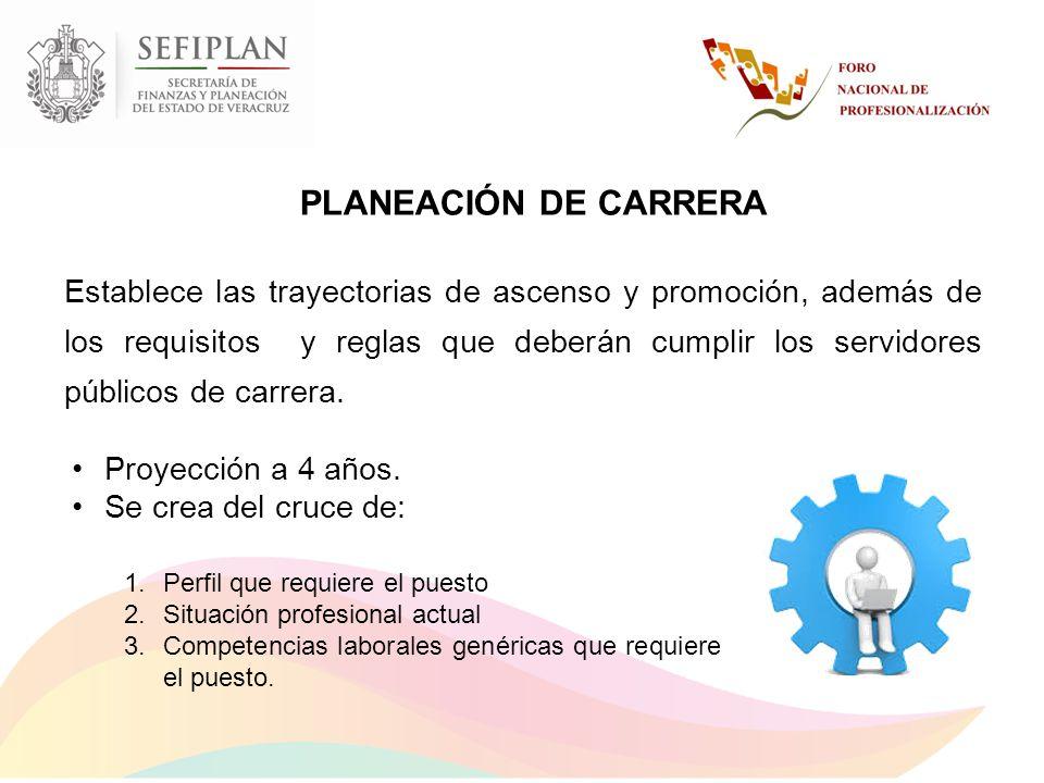 PLANEACIÓN DE CARRERA