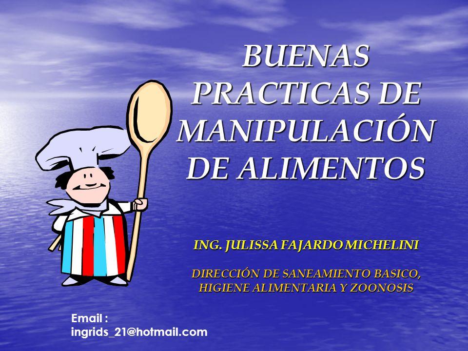 Buenas practicas de manipulaci n de alimentos ppt descargar for Buenas practicas de manipulacion de alimentos