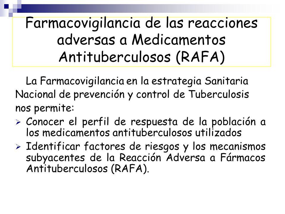 FARMACOVIGILANCIA A MEDICAMENTOS ANTITUBERCULOSOS - ppt