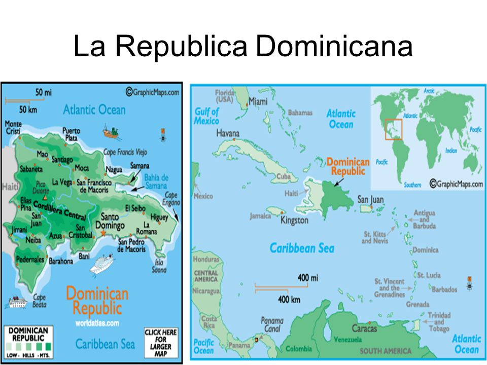 La Republica Dominicana