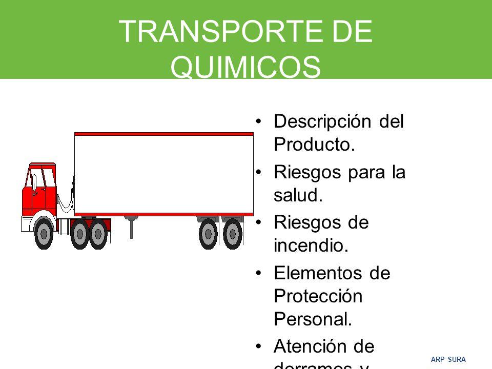 TRANSPORTE DE QUIMICOS