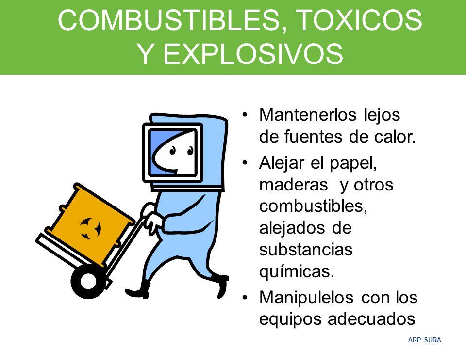 COMBUSTIBLES, TOXICOS Y EXPLOSIVOS