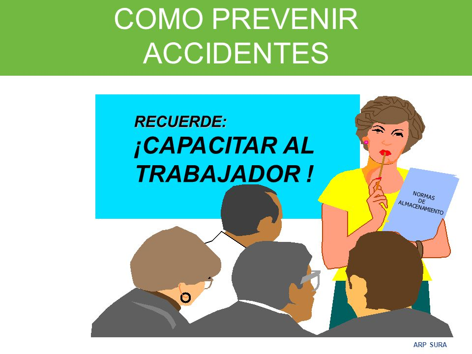 COMO PREVENIR ACCIDENTES