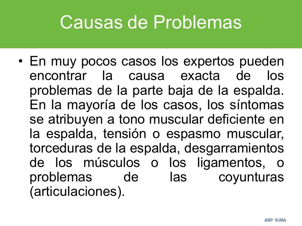 Causas de Problemas