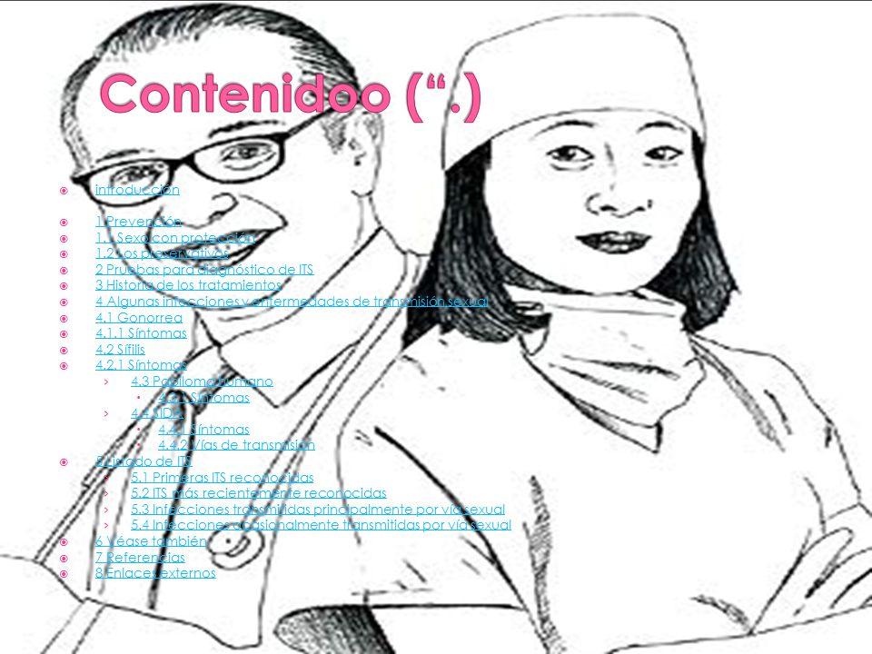 Contenidoo ( .) introducción 1 Prevención 1.1 Sexo con protección