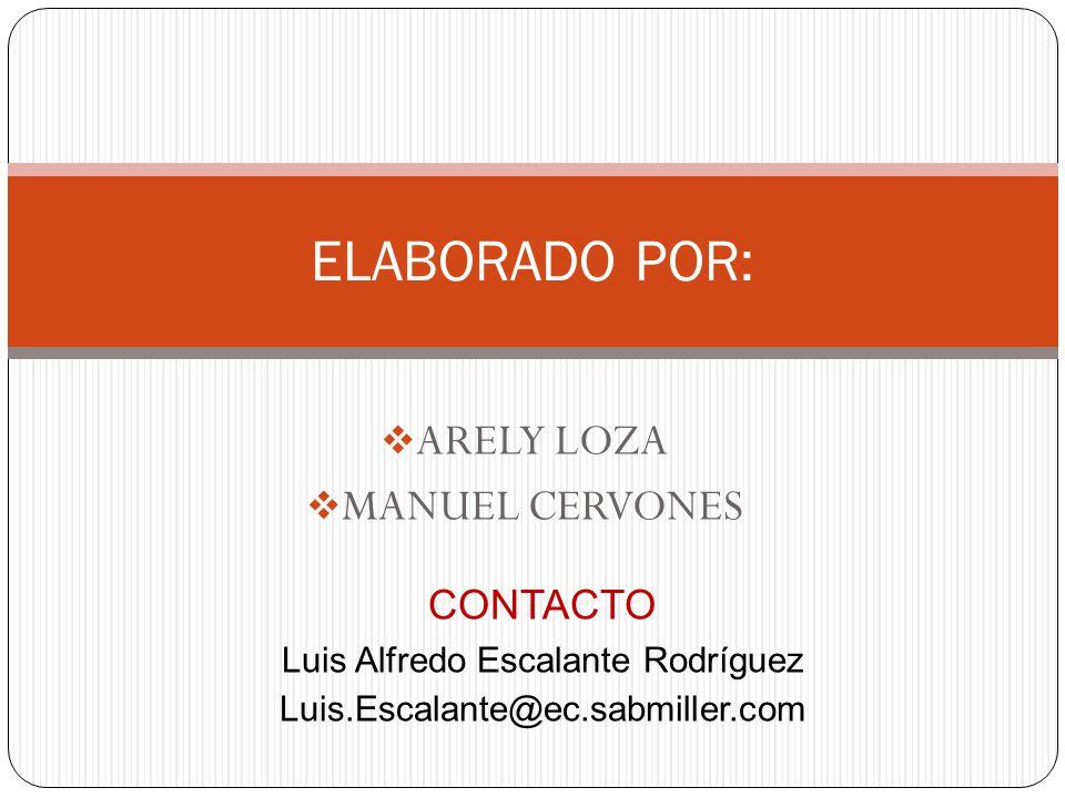 ARELY LOZA MANUEL CERVONES