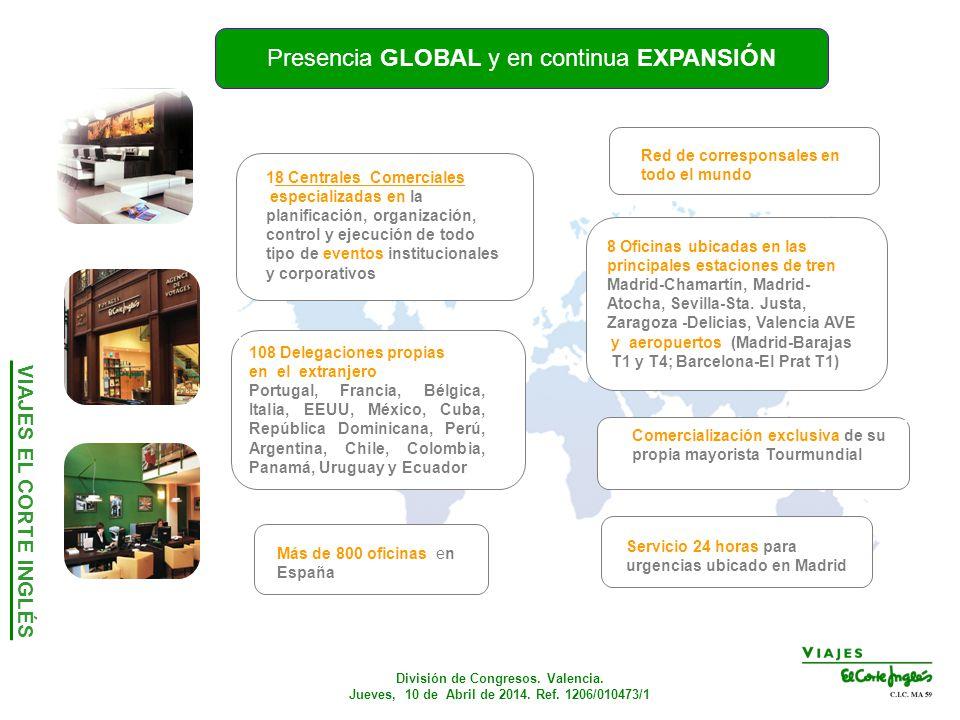 Congresos convenciones incentivos international congress for Oficina de extranjeros valencia