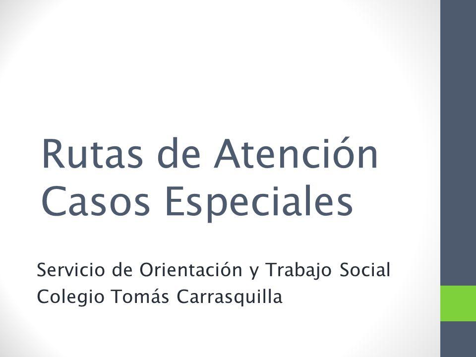 Rutas de atenci n casos especiales ppt descargar - Casas especiales ...
