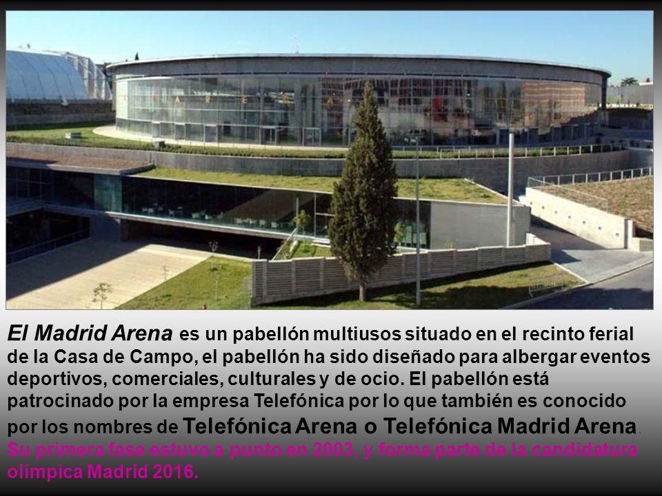 Estaciones y estadios de madrid ppt descargar - Recinto ferial casa de campo ...